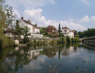 Samois-sur-Seine - Image: Samois Bords de Seine