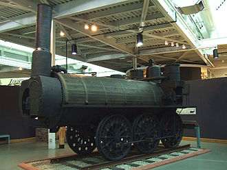 Timothy Hackworth - Samson, preserved at the Nova Scotia Museum of Industry