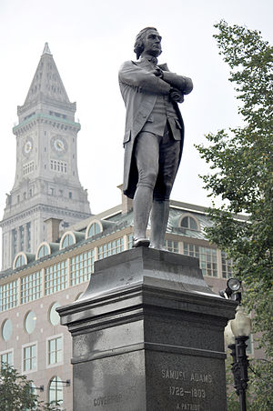 Samuel Adams (Whitney) - Image: Samuel Adams, Faneuil Hall