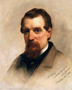 Charles Loring Elliott - Samuel Putnam Avery, C.L. Elliott, 1863