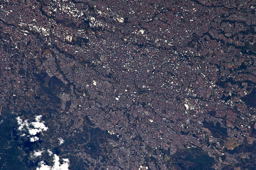 San Jose from the International Space Station San Jose, Costa Rica Astronaut Image.jpg