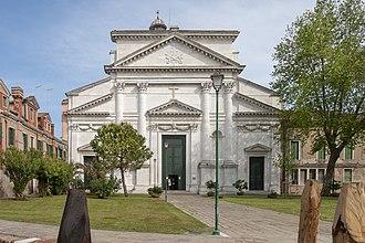 San Pietro di Castello (church) - The facade of San Pietro di Castello