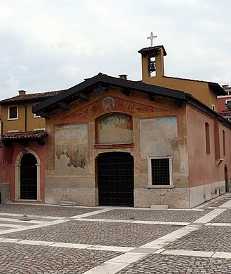 Villafranca di Verona - Church of San Rocco.