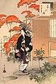 Sanjūroku kasen, Chanoyu Hōei koro fujin by Mizuno Toshikata.jpg