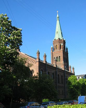 St. Matthew's Church, Copenhagen - St. Matthew's Church