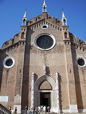 Francesco Maria Veracini - Santa Maria Gloriosa dei Frari one of the main churches in Venice