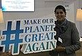 Sapna Sharma at COP23 French Pavillion in 2017.jpg