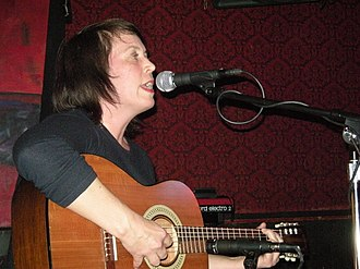 Sarah Dougher - Dougher performing in Seattle, 2009