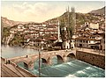 Sarajcvo (i.e., Sarajevo), looking toward Alifakovak, Bosnia, Austro-Hungary-LCCN2002708498.jpg