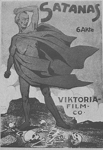 Satan (1920 film) - Film poster