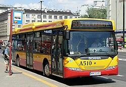 Scania CN94UB in Warsaw2