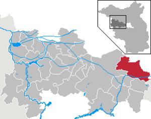Schönwalde-Glien - Image: Schönwalde Glien in HVL