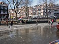 Schaatsen op de Prinsengracht in Amsterdam foto 5.jpg