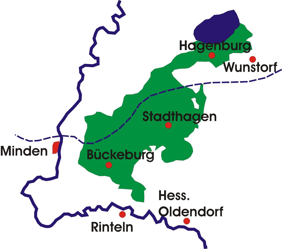 Fürstentum und Freistaat Schaumburg-Lippe 1807–1945