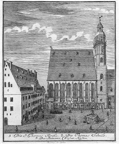 Церковь и Школа Святого Фомы (1723)