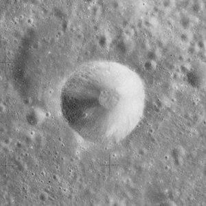 Schorr (crater) - Schorr C from Apollo 15