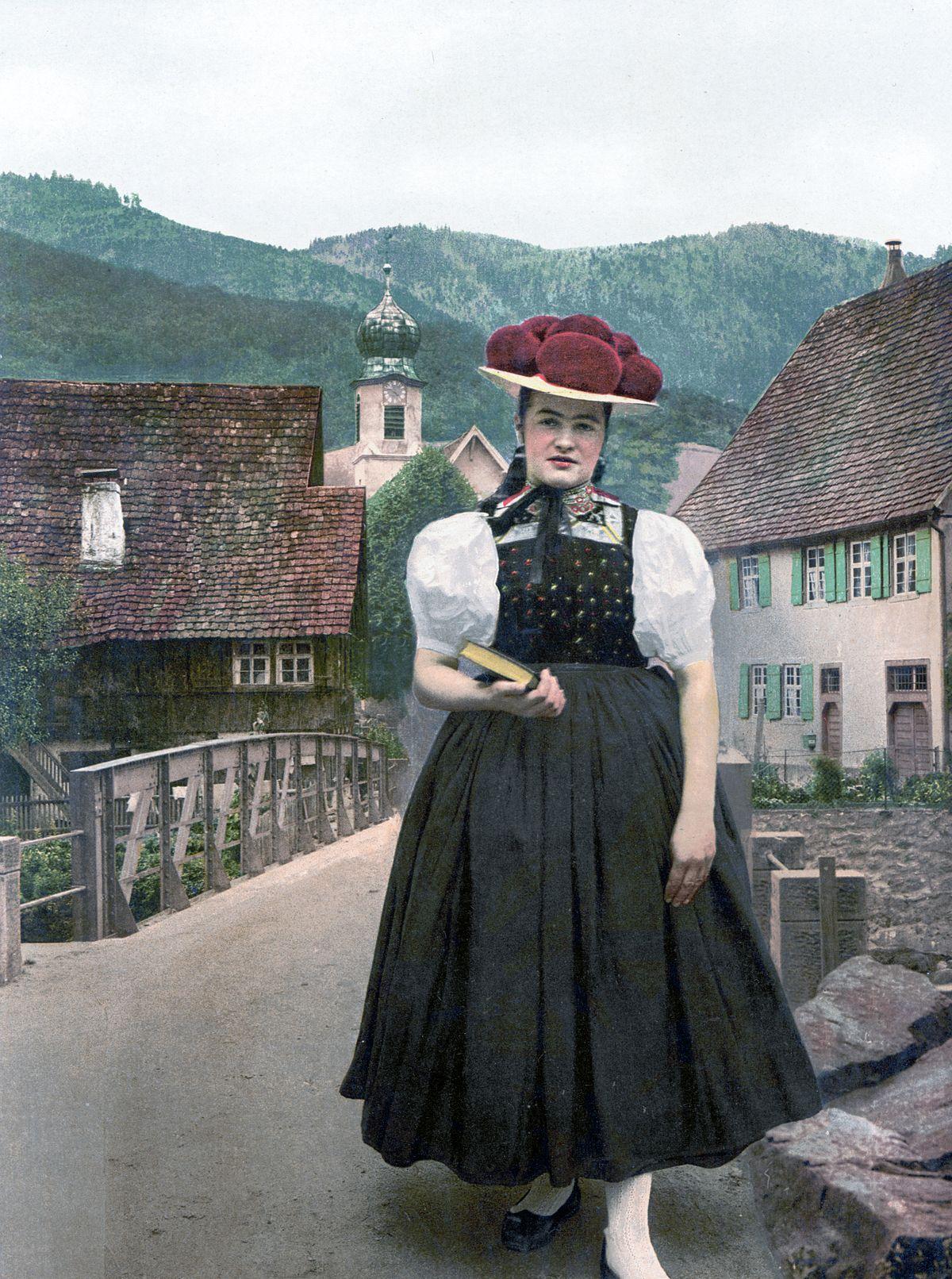 Frau mit hut bedeutung