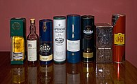 Various Scotch Whiskies