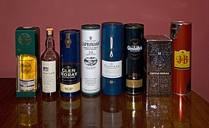 Scotch whisky - Various Scotch whiskies