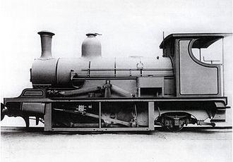 Namaqualand 0-6-2 Scotia Class - Scotia Class, either no. 9 Hibernia or no. 10 Cambria, sans tender, c. 1901
