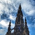 Scott Monument hdrscape (14638455589).jpg