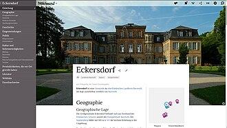 Wikiwand - Image: Screenshot wikiwand