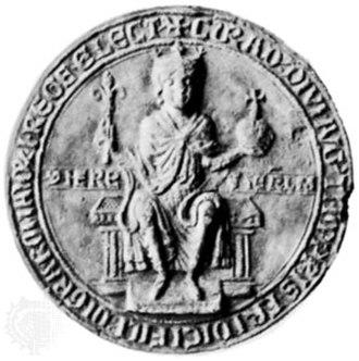 Conrad IV of Germany - Image: Seal of Conrad IV of Germany