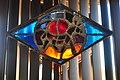 Seattle - Sephardic Bikur Holim Congregation - stained glass at entrance 15.jpg
