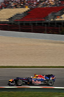 Photo de la Red Bull RB6 de Vettel en Espagne