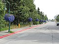 Second Avenue looking east from the northern terminus of the Tony Knowles Coastal Trail, Anchorage, Alaska.jpg