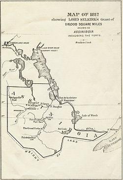 Location di Red River Colony