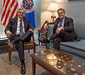 Senator Franken meets with Judge Merrick Garland (25533943723) (cropped).jpg