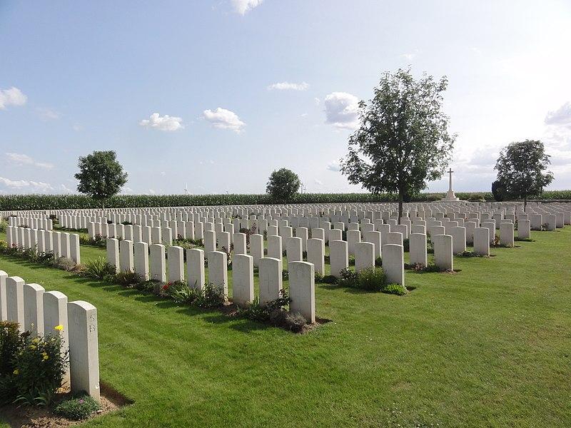 Seraucourt-le-Grand (Aisne) Grand Seraucourt British Cemetery