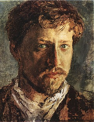 Valentin Serov - Self-portrait (1880s)