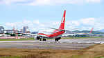 Shanghai Airlines Boeing 737-89P B-1512 Departing from Taipei Songshan Airport 20151003f.jpg