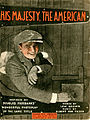 Sheet music cover - HIS MAJESTY, THE AMERICAN (1919).jpg