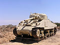 Sherman M4A1-ym. March 2008.jpg