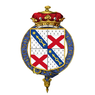 Shield of arms of Henry Petty-Fitzmaurice, 5th Marquess of Lansdowne, KG, GCSI, GCMG, GCIE, PC.png