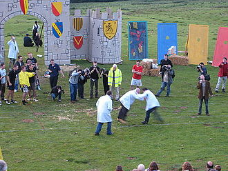 Cotswold Olimpick Games - A shin-kicking contest