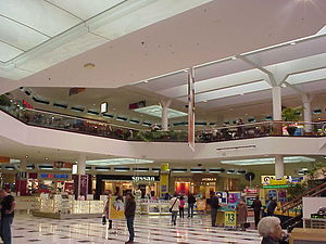 Westfield Geelong - Main atrium of Westfield Geelong prior to the 2008 redevelopment