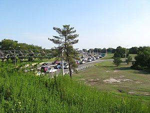 Belt Parkway - Westbound from Flatbush Avenue