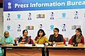 Shri Ananth Mhadevan, Director, briefing the media on the movie Mee Sindhutai Sapkal, at the Main Media Center, during the IFFI-2010, in Panjim, Goa, on November 23, 2010.jpg
