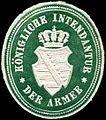 Siegelmarke Königliche Intendantur der Armee W0234546.jpg