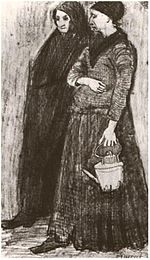 Sien Pregnant, Walking with Older Woman 988a Vincent van Gogh.jpg