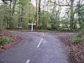 Signpost at the junction of Marlpost Road Dragons Green Road and Netherwoods Road - geograph.org.uk - 1580080.jpg