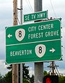 Signs for Oregon Highway 8 and TV Hwy in SE Hillsboro.jpg