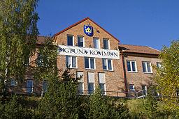 Sigtuna-Kommunehus beliggende i Märsta