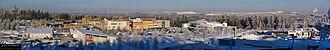 Siilinjärvi - Image: Siilinjärven keskusta 3. helmikuuta 2009