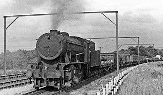 Woodhead line - Goods train near West Silkstone Junction in 1950