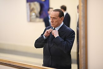 Forza Italia (2013) - FI's founder and leader Silvio Berlusconi.